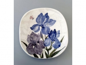 Saraswati Renata - Iris plate