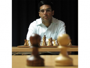Viswanathan Anand's Chess Board