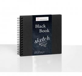 Black Book – 250 GSM – 30 Sheets / Spiral - A5