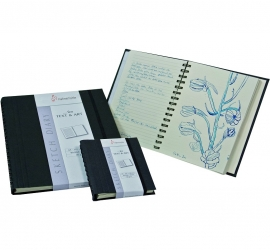 Sketch & Diary - (Ruled / Plain Pages) - 120 GSM – 60 Sheets / Spiral - A4