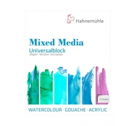 Universal Block Mixed Media – Fine Grain – 310 GSM – 25 Sheet / Block
