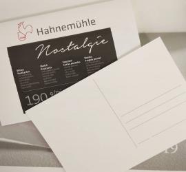Nostalgie Sketch Postcard Pad – Hot Pressed – 190 GSM – 20Sheets / Pad A6