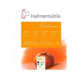 Velour Pastel Pad – 10 Colour – Velvet Surface – 265 GSM – 10 Sheets/pad
