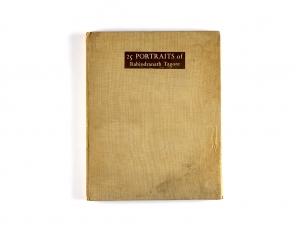 First Edition, '25 Portraits of Rabindranath Tagore'