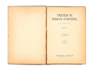 Trends in Indian Painting by Dhoomimal Gallery (1961)