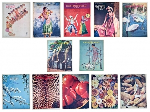 12 Issues of Illustrated Weekly of India