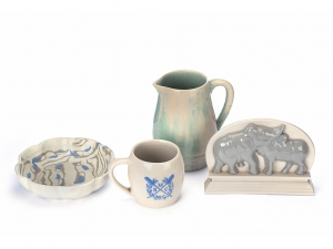 A Set Of Four 20th Century 'Parry's Ceramics