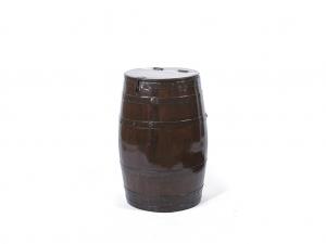 Vintage Storage Teak Barrels Small
