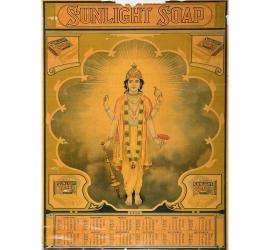 Sunlight Soap Calendar from 1928