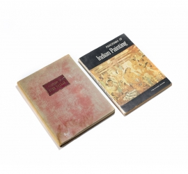 Set of 2 Book on the Paintings of India including a Signed Copy of Cumi Dallas