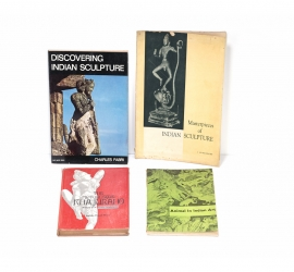 Set of Four Books on Indian Sculptures