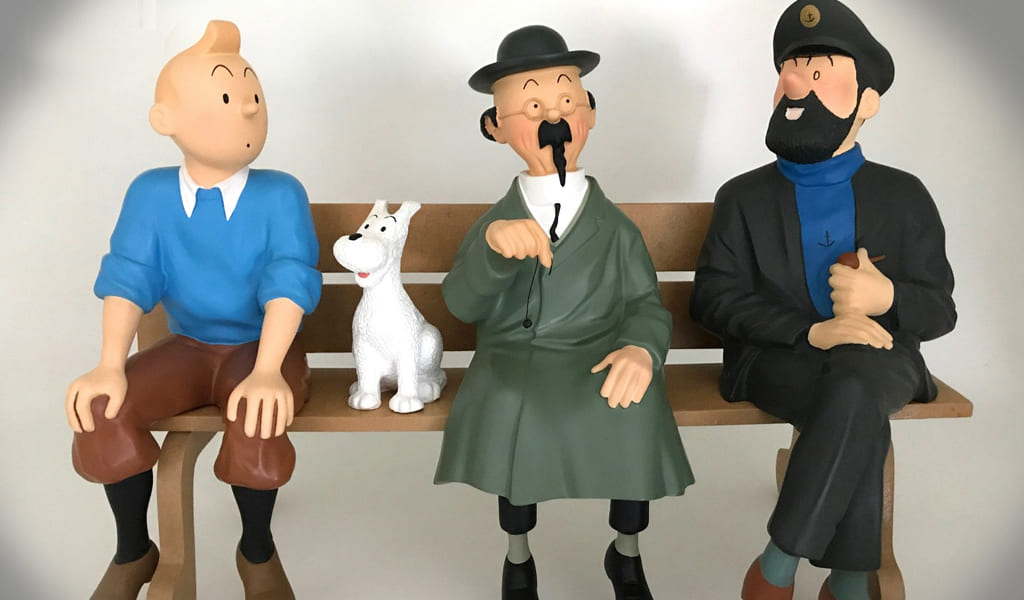 TINTIN  ACTION FIGURES