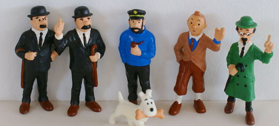 TINTIN  Action Figure