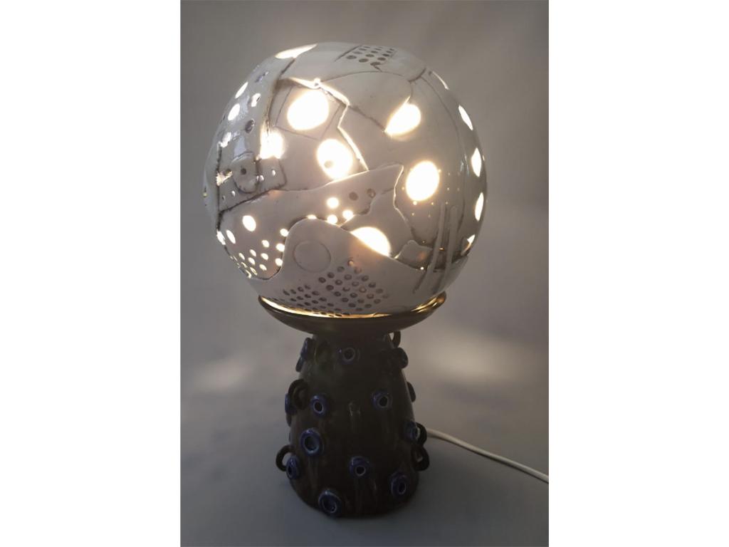Saraswati Renata - Ceramic lamp