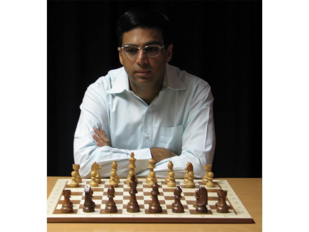 Viswanathan Anand's Chess Board