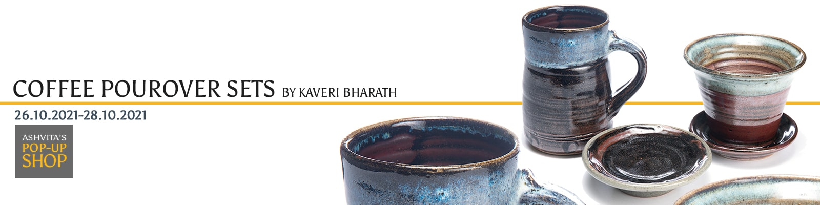 Coffee Pourover Sets By Kaveri Bharath